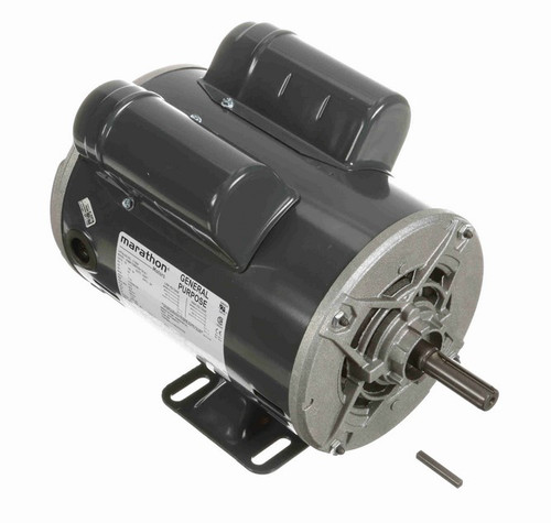 C182A Marathon 1 hp 1800 RPM 56 Frame 115/208-230V Open Drip Marathon Electric Motor