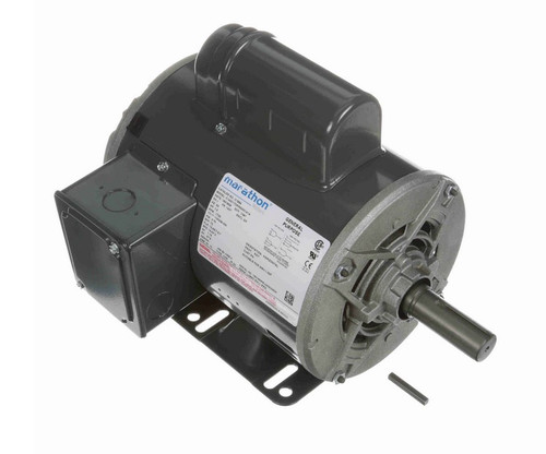 1 hp 1800 RPM 143T Frame 115/208-230V Open Drip Marathon Electric Motor # C188A