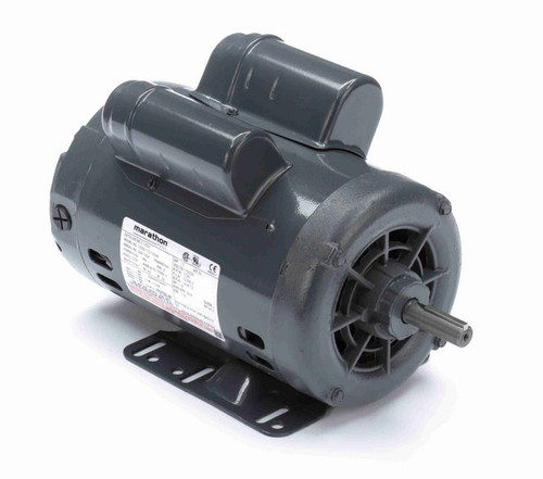 1 1/2 hp 1800 RPM 56 Frame 115/230V Open Drip Marathon Electric Motor # C185A
