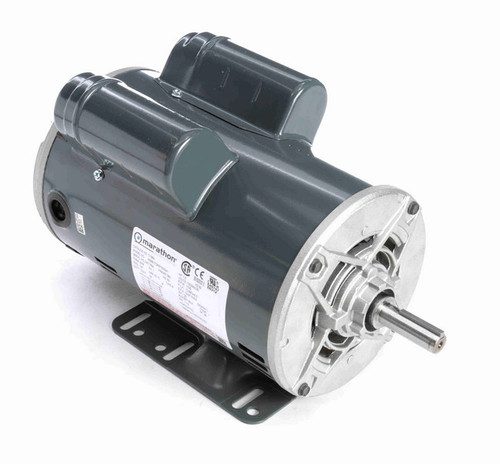 1 1/2 hp 1800 RPM 56 Frame 115/208-230V Open Drip Marathon Electric Motor # C186A