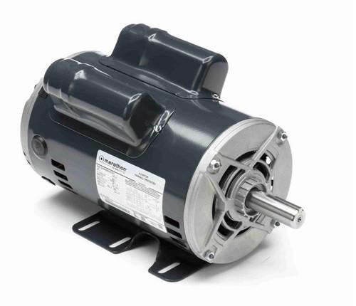 CG381 Marathon 2 hp 1800 RPM 56 Frame 115/208-230V Open Drip Marathon Electric Motor