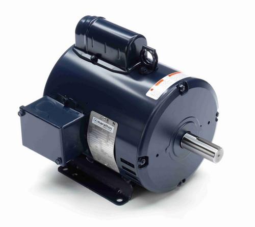 I112A Marathon 2 hp 1800 RPM 182T Frame 115/208-230V Open Drip Marathon Electric Motor