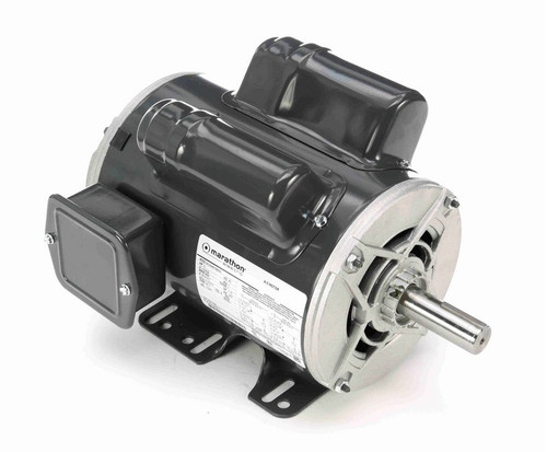 3 hp 3600 RPM 145T Frame 115/230V Open Drip Marathon Electric Motor # C194