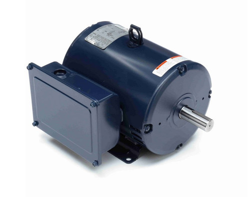 I113A Marathon 3 hp 1800 RPM 184T Frame 115/208-230V Open Drip Marathon Electric Motor