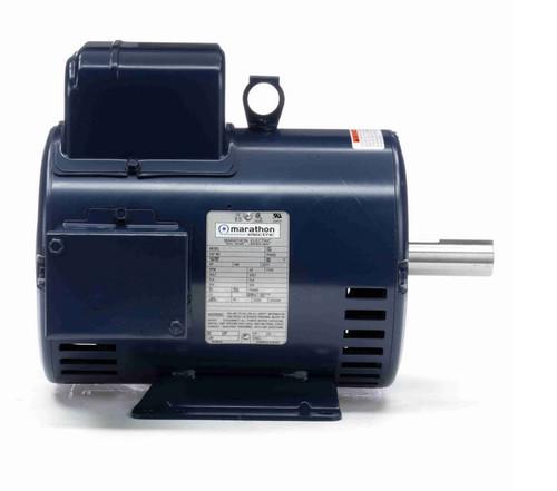 I104A Marathon 5 hp 3600 RPM 184T Frame 208-230V Open Drip Marathon Electric Motor