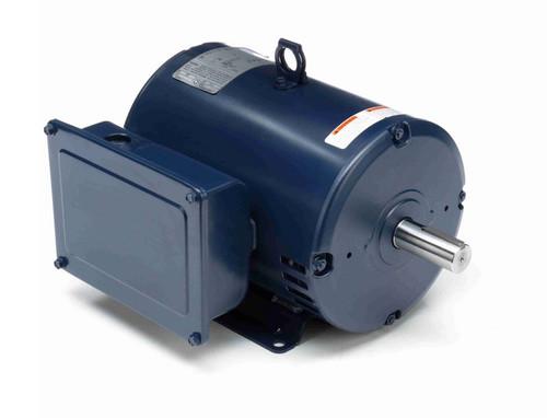 I114A Marathon 5 hp 1800 RPM 184T Frame 208-230V Open Drip Marathon Electric Motor