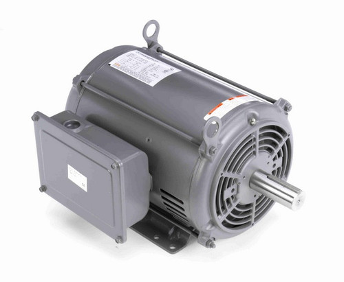 7.5 hp 1800 RPM 215T Frame 208-230V Open Drip Marathon Electric Motor # I115