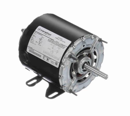 1/4 hp 1800 RPM 48 Frame 115V Open Drip Marathon Electric Motor # H902