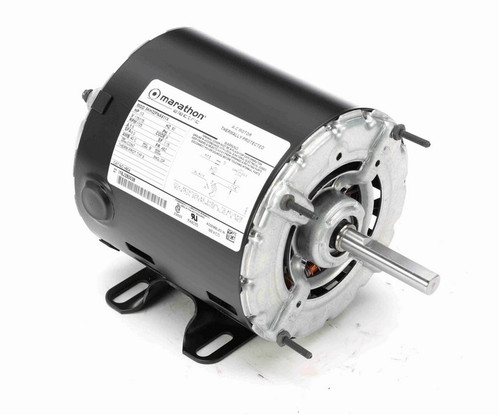 1/3 hp 1800 RPM 48 Frame 115V Open Drip Marathon Electric Motor # H904
