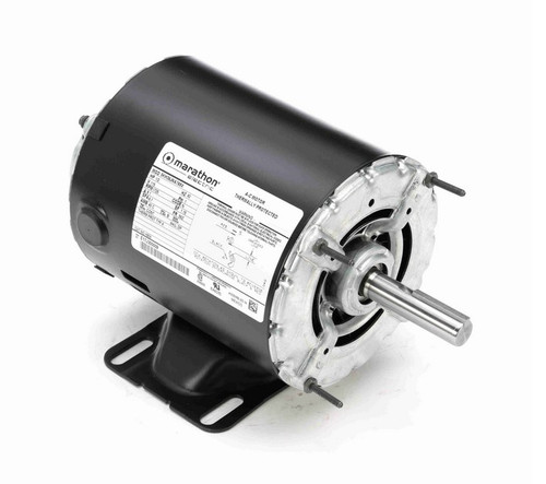 1/2 hp 1800 RPM 48 Frame 115V Open Drip Marathon Electric Motor # H906