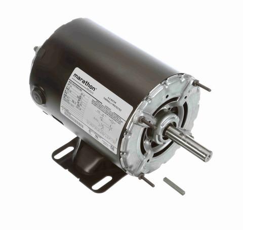 H908 Marathon 3/4 hp 1800 RPM 48 Frame 115V Open Drip Marathon Electric Motor