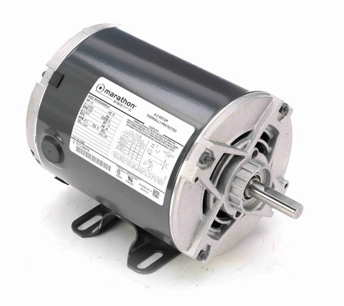 1/4 hp 1500 RPM 48 Frame 110/220V Open Drip Marathon Electric Motor # H689