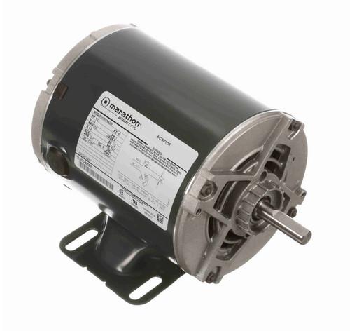 H676 Marathon 1/3 hp 1800 RPM 56 Frame 115V Open Drip Marathon Electric Motor