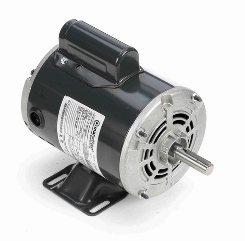 1/2 hp 1800 RPM 56 Frame 115/230V Open Drip Marathon Electric Motor # S012