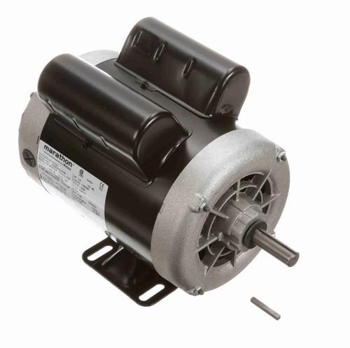 1 hp 3600 RPM 56 Frame 115/230V Open Drip Marathon Electric Motor # C702A