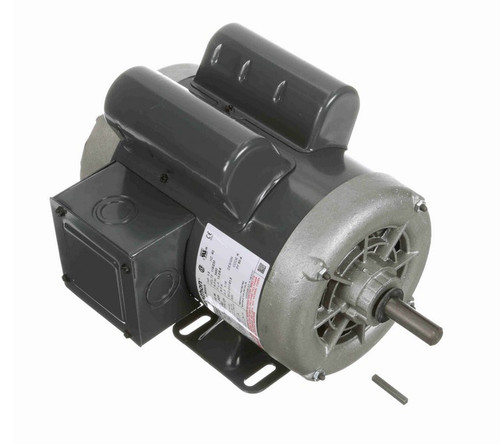 1 1/2 hp 3600 RPM 56 Frame 115/230V Open Drip Marathon Electric Motor # C1477A