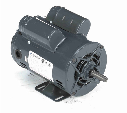 S036A Marathon 3/4 hp 1800 RPM 56 Frame 115/208-230V Open Drip Marathon Electric Motor