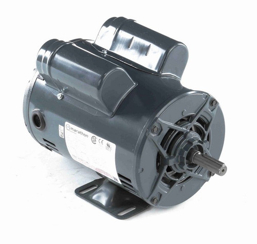 S015A Marathon 3/4 hp 1800 RPM 56 Frame 115/208-230V Open Drip Marathon Electric Motor