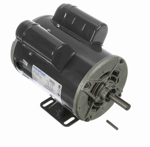 S039A Marathon 1 hp 1800 RPM 56 Frame 115/208-230V Open Drip Marathon Electric Motor
