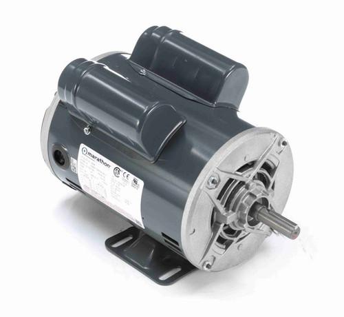 S038A Marathon 1 hp 1800 RPM 56 Frame 115/208-230V Open Drip Marathon Electric Motor