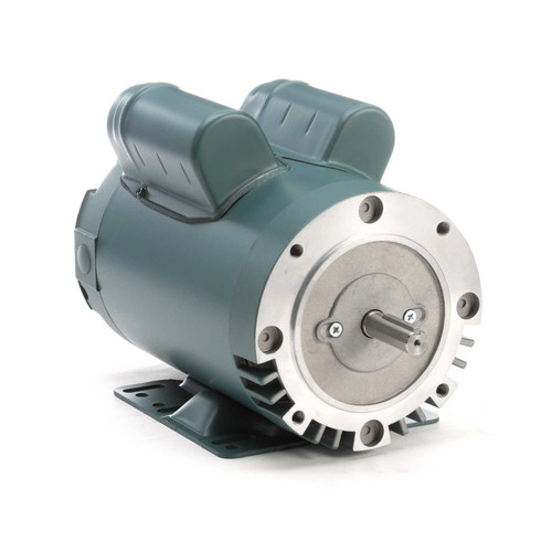 E114214.00 Leeson    1.5 hp 3600 RPM 56C Frame ODP C-Face (rigid base) 115/230V