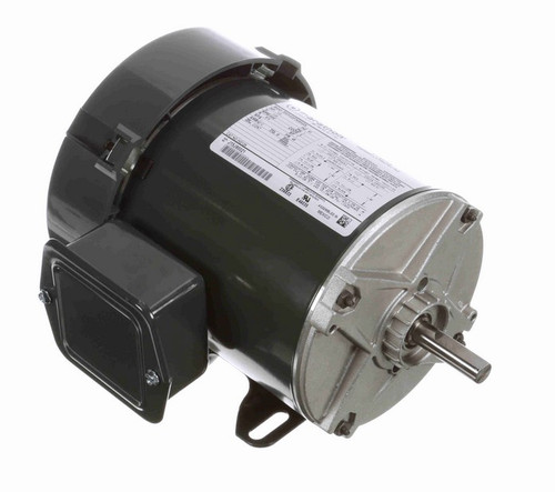 HG124 Marathon 1/3 hp 3600 RPM 48 Frame 115V Totally Enclosed Marathon Electric Motor