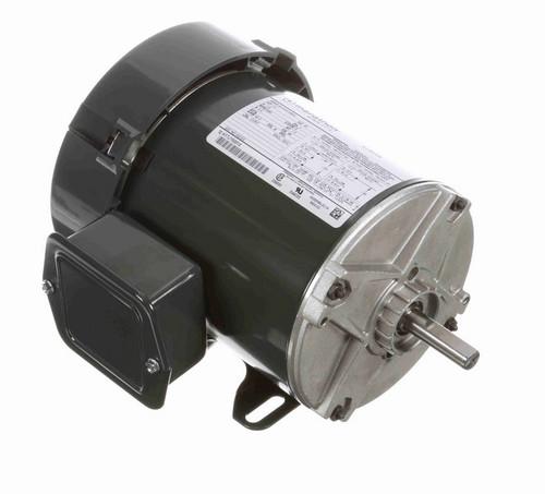 HG123 Marathon 1/3 hp 3600 RPM 48 Frame 115V Totally Enclosed Marathon Electric Motor