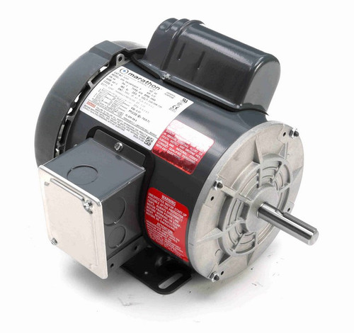 G393 Marathon 1/2 hp 3600 RPM 56 Frame 115/208-230V Totally Enclosed Marathon Electric Motor