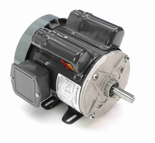 E267 Marathon 1/2 hp 1800/1500 RPM 56 Frame 100-120/200-400V Totally Enclosed Marathon Electric Motor