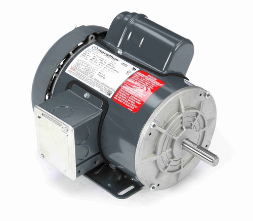 G379 Marathon 3/4 hp 3600 RPM 56 Frame 115/208-230V Totally Enclosed Marathon Electric Motor
