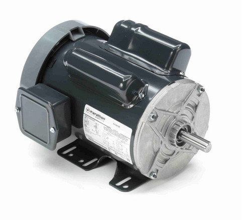 C271 Marathon 3/4 hp 1200 RPM 56 Frame 115/230V Totally Enclosed Marathon Electric Motor