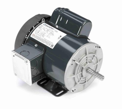 1 hp 1800 RPM 56 Frame 115/208-230V Totally Enclosed Marathon Electric Motor # G359