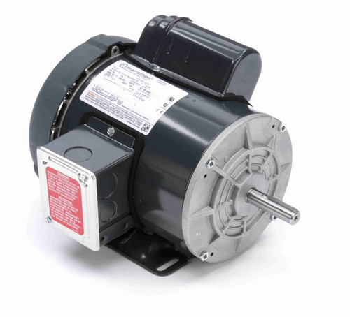 G390 Marathon 1 hp 3600 RPM 56 Frame 115/208-230V Totally Enclosed Marathon Electric Motor