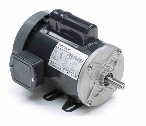 C275 Marathon 1 hp 1800 RPM 56 Frame 115/230V Totally Enclosed Marathon Electric Motor