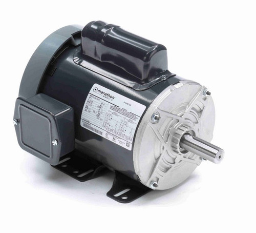 C295 Marathon 1 hp 1800 RPM 143T Frame 115/230V Totally Enclosed Marathon Electric Motor