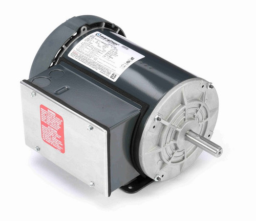 1 1/2 hp 3600 RPM 56 Frame 115/208-230V Totally Enclosed Marathon Electric Motor # G391