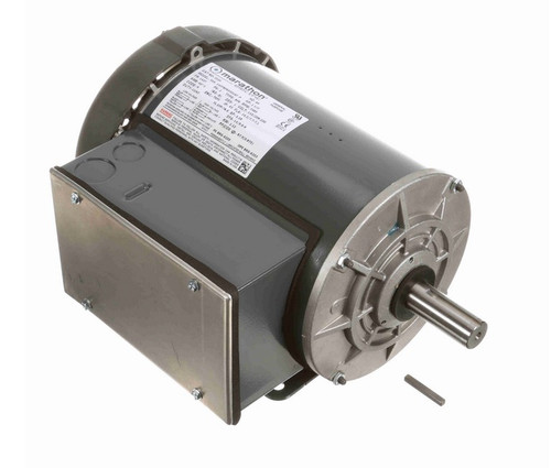 1 1/2 hp 3600 RPM 143T Frame 115/208-230V Totally Enclosed Marathon Electric Motor # I220