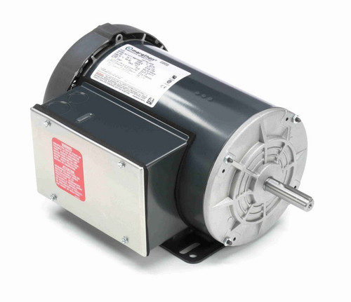 G378 Marathon 1 1/2 hp 1800 RPM 56 Frame 115/208-230V Totally Enclosed Marathon Electric Motor