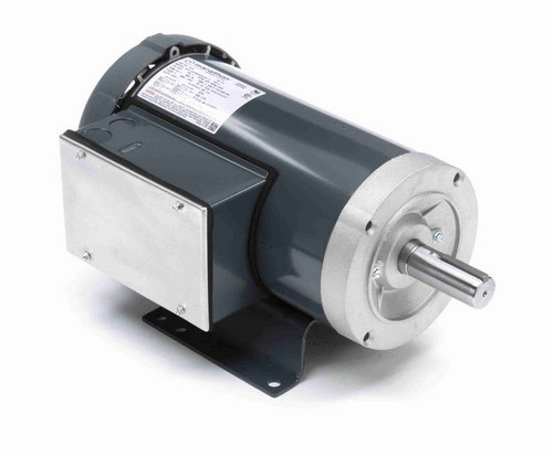 I206 Marathon 3 hp 3600 RPM 182T Frame 115/208-230V Totally Enclosed Marathon Electric Motor