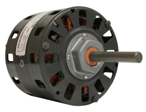 "Fasco D318 Motor | 1/6 hp 1050 RPM 2-Speed CW 5"" Diameter 230 Volts"