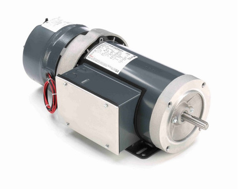 1 1/2 hp 1800 RPM 56C Frame 115/208-230V Totally Enclosed Marathon Electric Brake Motor # D404