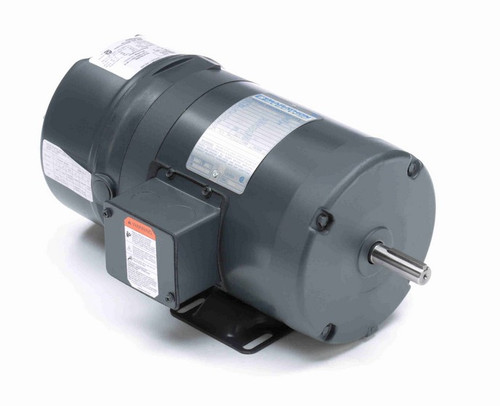 1/2 hp 3 phase 1800 RPM 56 Frame 230/460V TENV Marathon Electric Brake Motor # K456