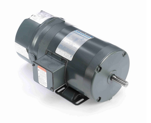 K458 Marathon 3/4 hp 3 phase 1800 RPM 56 Frame 230/460V TENV Marathon Electric Brake Motor