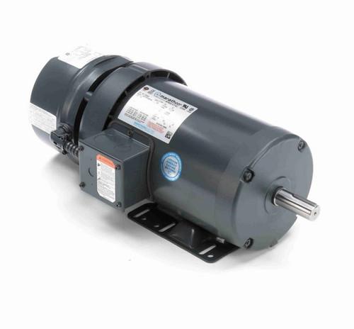 K2045A Marathon 2 hp 3 phase 1800 RPM 145T Frame 230/460V TEFC Marathon Electric Brake Motor