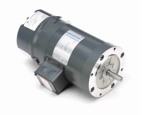 K460 Marathon 3/4 hp 3 phase 1800 RPM 56C Frame 230/460V TENV Marathon Electric Brake Motor