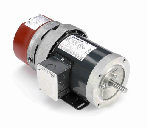D450 Marathon 1/3 hp 3 phase 1800 RPM 56C Frame 208-230/460V TEFC Marathon Electric Brake Motor