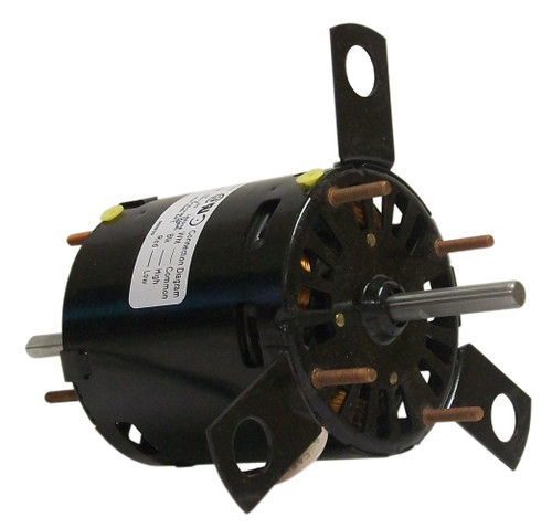 "Fasco D325 Motor | 1/10 hp 1500 RPM 2-Speed 3.3"" Diameter 115 Volts (Sears Whirlpool)"