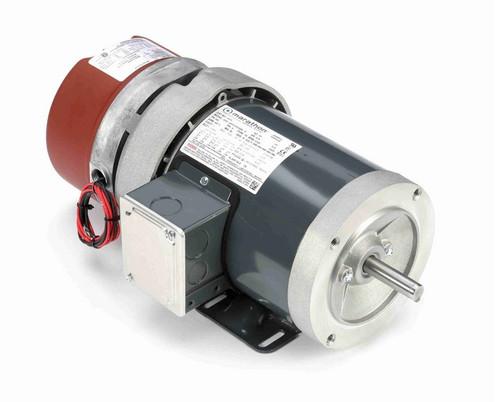 MD454 Marathon 3/4 hp 3 phase 1800 RPM 56C Frame 208-230/460V Totally Enclosed Marathon Electric Brake Motor