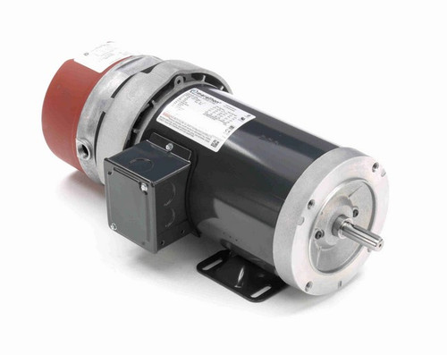 D456A Marathon 1 hp 3 phase 1800 RPM 56C Frame 230/460V TEFC Marathon Electric Brake Motor