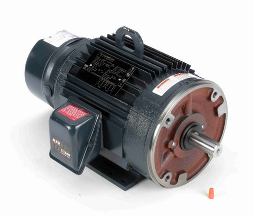 C405 Marathon 3 hp 3 phase 1800 RPM 182TC Frame 230/460V TEFC Marathon Electric Brake Motor